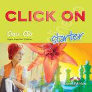 Curs de limba engleza Click On Starter. CLASS audio CD (Set 2 CD)