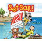 Curs pentru limba engleza Set Sail 2 - Audio CD (Set 3 CD)