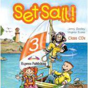Curs pentru limba engleza Set Sail 3. Audio CD (Set 2 CD)