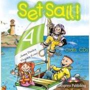 Curs pentru limba engleza Set Sail 4. Audio CD (Set 2 CD)