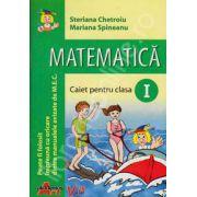 Matematica caiet pentru clasa I (Steriana Chetroiu)