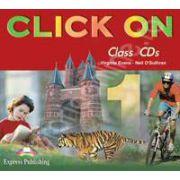 Curs de limba engleza Click On 1. Class audio CDs (Set 4 CD)