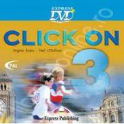Curs de limba engleza Click On 3. DVD