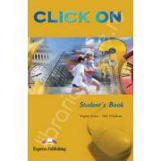 Curs de limba engleza Click On 3 with leaflet. Manualul elevului pentru clasa a VII-a