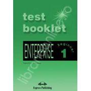 Curs de limba engleza. Enterprise 1 Beginner. Test Booklet