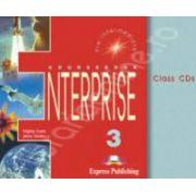 Curs de limba engleza. Enterprise 3 Pre-Intermediate. Class audio CDs (Set 3 CD)