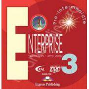 Curs de limba engleza. Enterprise 3 Pre-Intermediate. DVD