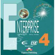 Curs de limba engleza. Enterprise 4 Intermediate. DVD