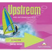 Curs pentru limba engleza. Upstream Pre-Intermediate B1. Class audio CDs (Set 4 CD)