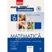 Mate 2000 pentru clasa a VI-a. Partea I, CONSOLIDARE. Matematica - Algebra, geometrie