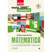 Mate 2000 pentru clasa a VI-a. Partea I, STANDARD. Matematica - Algebra, geometrie