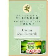 """Pachet ,,Ceaiul Verde"""". Ceai verde 20 pliculete 1,5g si Cartea ceaiului verde.""""Remediul miraculos""""confirmat stiintific"""
