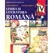 Limba si literatura romana manual pentru clasa a IV-a (Celina Iordache)