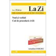 Noul si vechiul Cod de procedura civila (Actualizat la 25. 08. 2012)