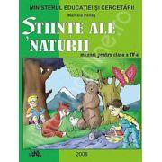 STIINTE ALE NATURII manual pentru clasa a IV-a (Marcela Penes)