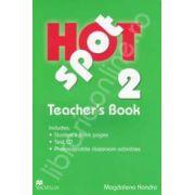 Hot Spot 2 Teachers Book with Test CD