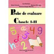Probe de evaluare. Clasele I-II