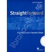 StraightForward Pre-intermediate. Teacher's Book (Includes Resource CDs)