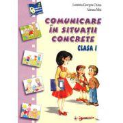 Comunicare in situatii concrete, clasa I