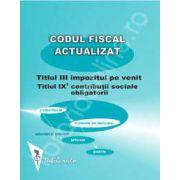 Codul fiscal actualizat 2012-2013. Impozitul pe venit, Contributii sociale obligatorii