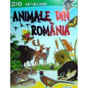 210 abtibilduri. Animale din Romania