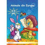 Animale din Europa 4-5 ani