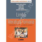 Evaluare nationala 2013 pentru Limba si Literatura Romana (Conform noilor modele stabilite de MECTS)