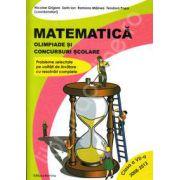Matematica. Olimpiade si concursuri scolare. Clasa a VII-a, Anii 2008-2012 (Probleme selectate pe unitati de invatare cu rezolvari complete)