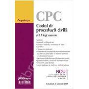 Codul de procedura civila si 13 legi uzuale actualizat 25 ianuarie 2013