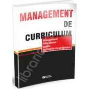 Management de curriculum. Management educational pentru institutiile de invatamant