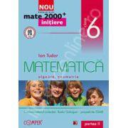 Mate 2000 pentru clasa a VI-a. Partea a II-a, INITIERE. Matematica, algebra, geometrie