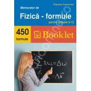 Memorator de Fizica. 450 de formule pentru clasele 6-12