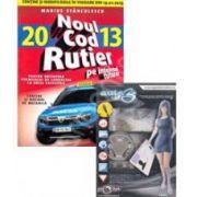 Pachet legislatie rutiera. Noul cod rutier 2013 si DVD cu software auto B+V. 3 pentru categoria B