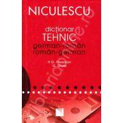 Dictionar dublu tehnic German-Roman, Roman-German (Editie cartonata)