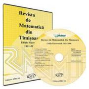 CD. Revista Matematica Timisoara - Editie Electronica