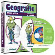 CD, interactiv. Geografie. Romania si Europa pentru clasa a IV-a