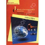 Limba si literatura romana. Comunicare. Fise de lucru, teste initiale, formative si finale. Clasa a VIII-a, semestrul al II-lea (2012-2013)