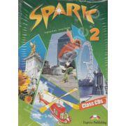 Curs pentru limba engleza (Level A2). SPARK 2. Class CDs (4 CD-uri)