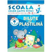 Bilute din plastilina. Activitati pentru copiii de la 1 la 2 ani - carte cu jocuri