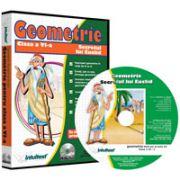 CD, interactiv. Geometrie (Secretul lui Euclid). Intre joc si nota 10. Matematica pentru clasa a VI-a, Volumul 2