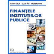 Finantele institutiilor publice