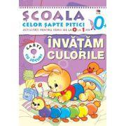 Invatam culorile. Activitati pentru copiii de la 0 la 1 an - carte cu jocuri