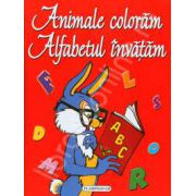 Animale coloram. Alfabetul invatam
