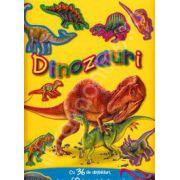 Dinozauri cu 36 de abtibilduri, despre 60 de specii de dinozauri