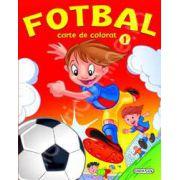 Fotbal - carte de colorat (1)