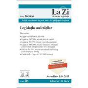 Legislatia societatilor (actualizat la 1 aprilie 2013)