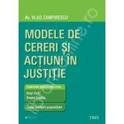 Modele de cereri si actiuni in justitie