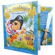 Insula Piratilor. Carte si costum de pirat (Carte cu jucarie)