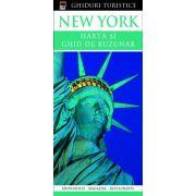 New York - harta si ghid de buzunar
