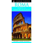 Roma - harta si ghid de buzunar